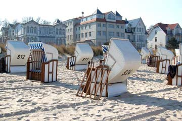 Strand bei Bansin auf Usedom