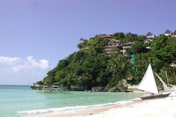 Strand auf Boracay - Philippinen