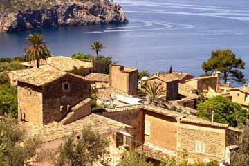 Mallorca - Blick auf das Meer