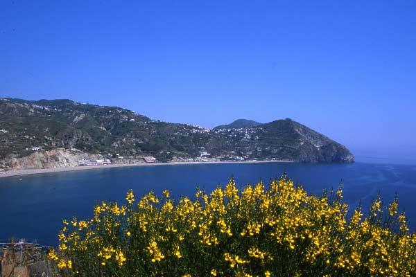 Blick auf das Meer bei Ischia