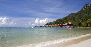 Strand und Meer bei Langkawi