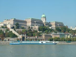 Burgpalast in Budapest
