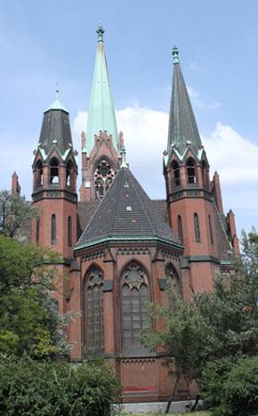 Apostel Paulus Kirche in Berlin Schöneberg