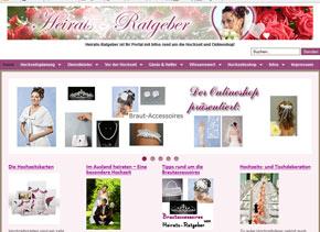 Webseite von heirats-ratgeber.de