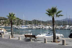 Jachthafen in Andratx auf Mallorca