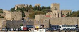 Die griechische Insel Rhodos